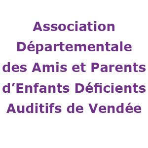 Logo association départementale des amis et parents d'enfants déficients auditifs de Vendée