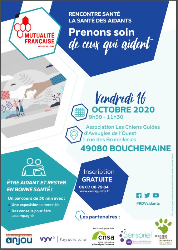 Affiche Prenons soin de ceux qui aident - 2020-10-16 Maine et Loire