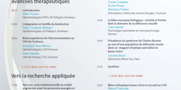 Programme 15eme Colloque ARIBA - 22-11-2019 à Bordeaux