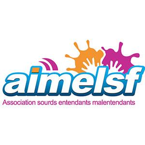 Logo AIMELSF, association sourds entendants malentendants