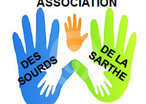 logo Association des sourds de la Sarthe
