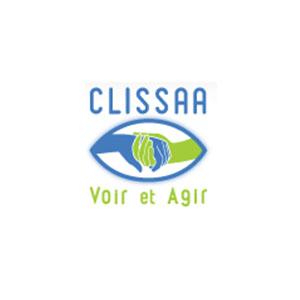 Logo clissaa Voir et Agir