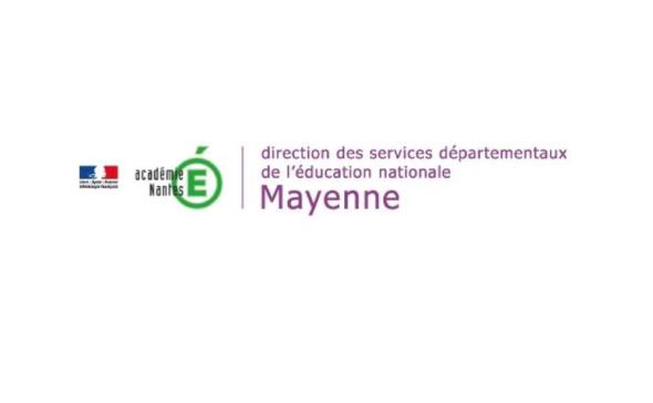 logo Direction des Services Départementaux de l'Éducation Nationale de la Mayenne