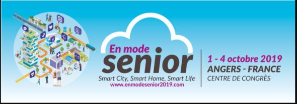 Forum en mode seniordu 1er au 4 octobre 2019 Centre des Congrès à Angers