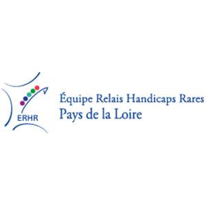 Logo ERHR, Équipe relais Handicaps rares Pays de Loire
