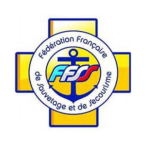 Logo FFSS 44, fédération française de sauvetage et de secourisme