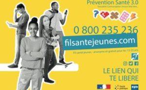 Prévention santé 3.0 - 0800 235 236 - Fil santé anonyme et gratuite pour les 12-25 ans - filsantejeunes.com – Le lien te libère