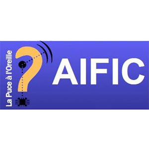 Logo AIFIC, Association d'Ile de France des Implantés Cochléaires