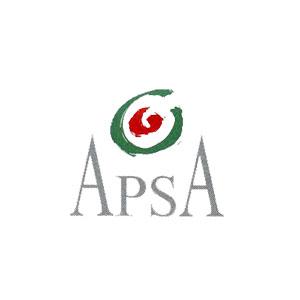 Logo APSA, Association pour la Promotion des Personnes Sourdes, Aveugles et Sourdaveugles