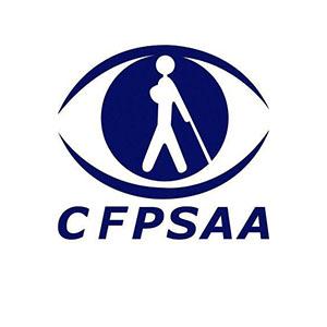 Logo CFPSAA, Confédération Française pour la Promotion Sociale des Aveugles et Amblyopes