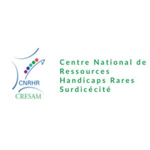 Logo CRESAM - Centre national de ressources handicaps rares – surdicécité