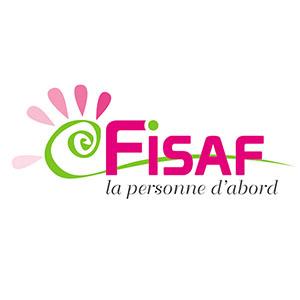 Logo FISAF, Fédération nationale pour l'Inclusion des personnes en situation de handicap sensoriel et DYS en France