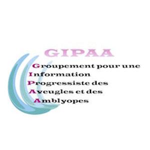 Logo GIPAA, Groupement pour une information progressiste des aveugles et des amblyopes