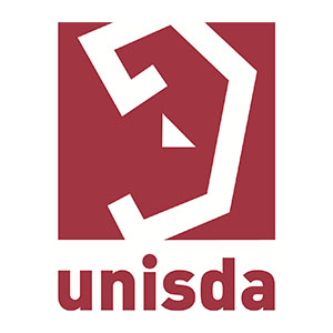 Logo Unisda, Union Nationale pour l'Insertion Sociale du Déficient Auditif