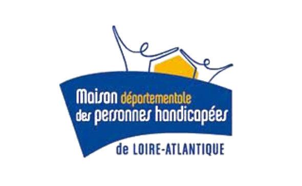logo maison départementale des personnes handicapées de Loire Atlantique
