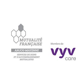 Logo Mutualité Française Anjou Mayenne VYV CARE