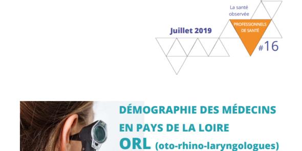 Page de couverture du rapport de l'ORS sur les ORL