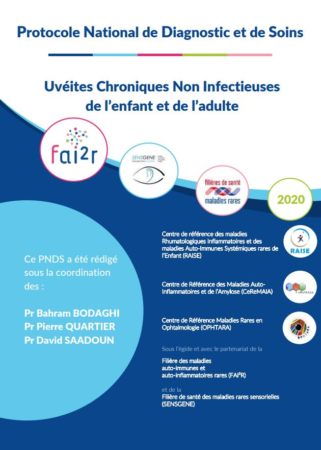 PNDS Uvéites chroniques non infectieuses de l'enfant et de l'adulte