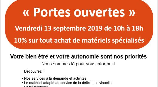 Portes Ouvertes comité AVH 44 13 septembre 2019 10h-18h - Comité AVH 2bis Boulevard Boulay Paty à Nantes - 10% sur tout achat de matériels spécialisés