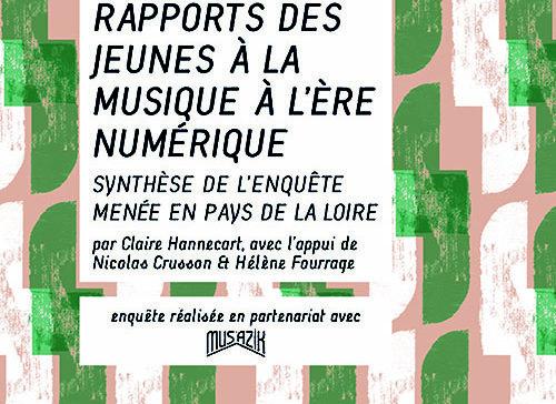 Rapport Prévention des jeunes à la musique de l'ère numérique