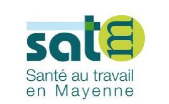 logo sante au travail en Mayenne