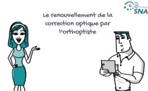 Le renouvellement de la correction optique par l'orthoptiste