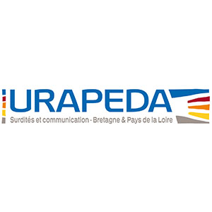 Logo URAPEDA, Surdités et communication