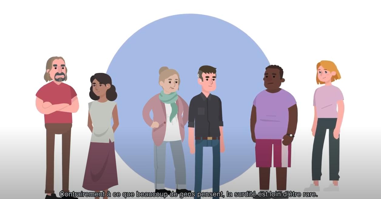 Vidéo Sensgène - Comment accueillir les personnes sourdes ou malentendantes en milieu médical