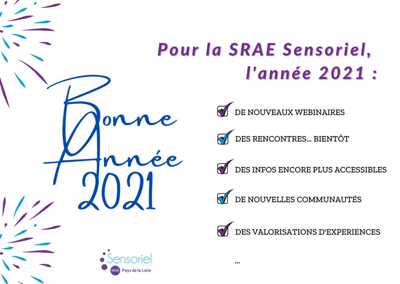 Voeux 2021 SRAE Sensoriel