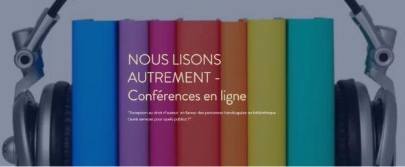 Nous lisons autrement - Conférence en ligne